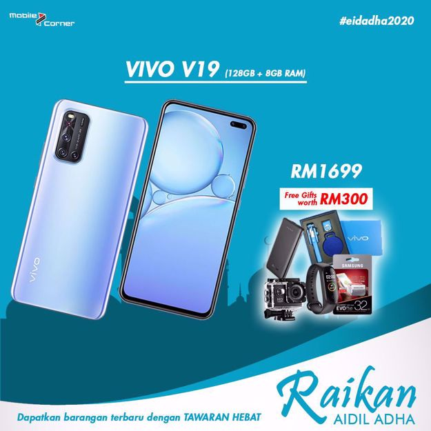 Picture of VIVO V19 [128GB + 8GB RAM] ORIGINAL MALAYSIA SET
