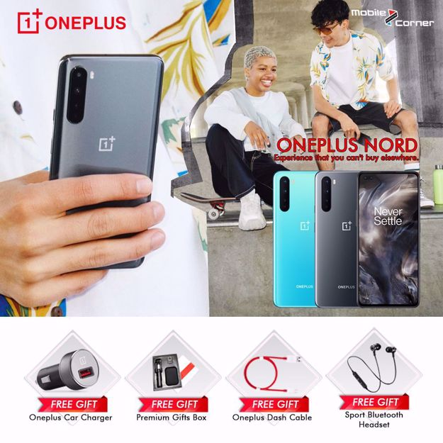 Picture of ONEPLUS NORD [128GB + 8GB RAM] MALAYSIA SET