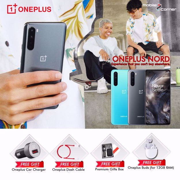 Picture of ONEPLUS NORD [256GB + 12GB RAM] MALAYSIA SET