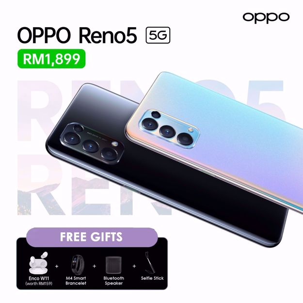 Picture of Oppo Reno 5 | 5G | 8GB + 128GB